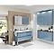 Armoire de salle de bains bleu Cooke & Lewis Imandra 60 cm