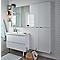 Armoire de salle de bains blanc Cooke & Lewis Imandra 80 cm
