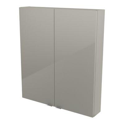 Armoire de salle de bains taupe COOKE & LEWIS Imandra 80 cm