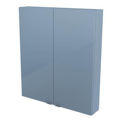 Armoire de salle de bains bleu COOKE & LEWIS Imandra 80 cm