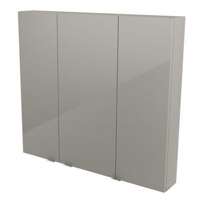 Armoire de salle de bains taupe COOKE & LEWIS Imandra 100 cm