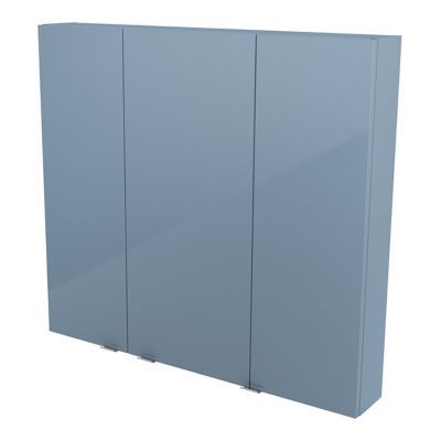 Armoire de salle de bains bleu COOKE & LEWIS Imandra 100 cm