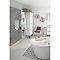 Armoire de salle de bains miroir COOKE & LEWIS Imandra 40 cm