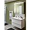 Armoire de salle de bains miroir Cooke & Lewis Imandra 100 cm