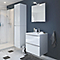 Armoire de salle de bains blanc Cooke & Lewis Imandra 40 x 36 cm