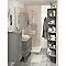 Armoire de salle de bains gris COOKE & LEWIS Imandra 40 x 36 cm