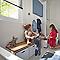 Armoire salle de bains blanc miroir Imandra 40 x 90 x 36 cm
