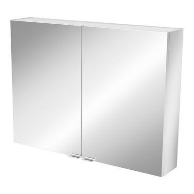Armoire salle de bains miroir Imandra 80 x 60 x 15 cm