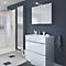 Armoire salle de bains miroir GoodHome Imandra 80 x 60 x 15 cm
