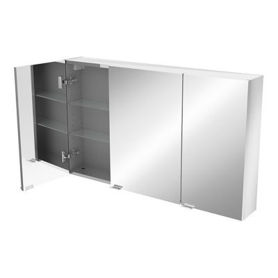 Armoire salle de bains miroir Imandra 100 x 60 x 15 cm