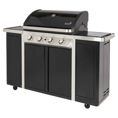 Barbecue Gaz Blooma Camden 450 Noir Castorama