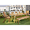 Table de jardin Denia 180/228 x 90 cm