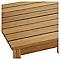 Table basse de jardin Denia 47 x 47 cm