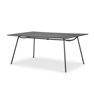 table de jardin adelaide 160 x 100 cm castorama. Black Bedroom Furniture Sets. Home Design Ideas
