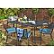 Table de jardin Adelaide 160 x 100 cm