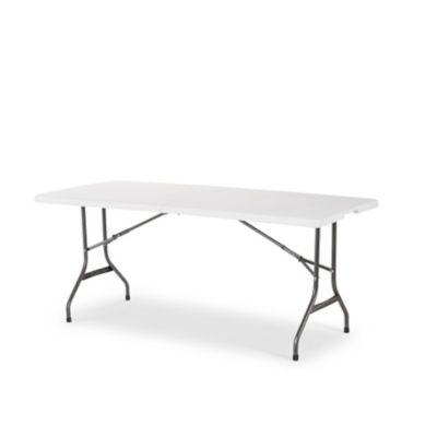 Table de jardin valise Memphis L. 181 x l. 76 cm   Castorama