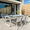 Table de jardin Bellco 220 x 100 cm