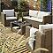 Table basse de jardin Soron 80 x 50 cm