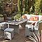 Table de jardin mi-haute Praslin 166 x 86 cm