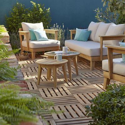Table basse de jardin Adonia ø60 cm   Castorama