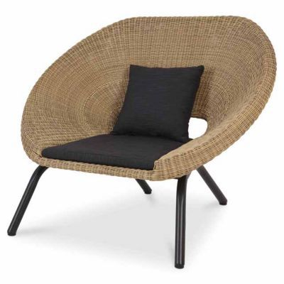 fauteuil de jardin loa lot de 2 castorama. Black Bedroom Furniture Sets. Home Design Ideas