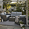 Table basse de jardin Sulana 70 x 70 cm