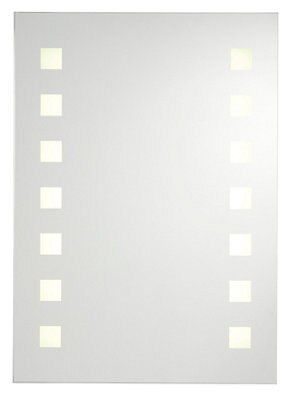 Miroir lumineux Cooke & Lewis Rozel 50 x 70 cm