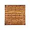 Panneau bois droit Blooma Oussouri 180 x h.180 cm