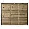 Panneau bois droit BLOOMA Salouen 183 x h.150 cm
