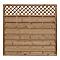 Panneau bois Treilli marron Darling 180 x h.180 cm, ép.40 mm