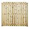Lame de clôture bois Lemhi 183 x 7 cm