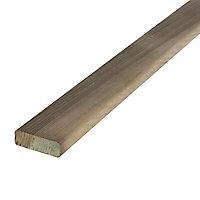 Lame de clôture bois Lemhi 180 x 4,5 cm