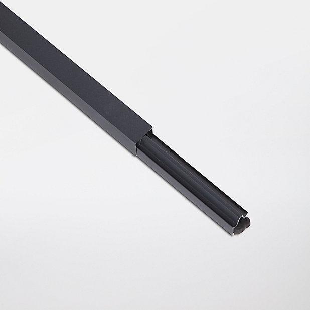 Profile De Finition Aluminium Neva Anthracite Lot De 2 Castorama