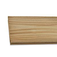 Lame de clôture bois Neva 180 x 14,5 cm