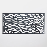 Panneau feuille aluminium Neva anthracite