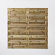 Panneau anti-vent bois Neva 180 x h.180 cm