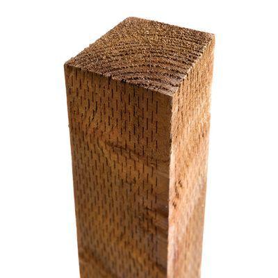 poteau bois zutam marron 7 x 7 x cm castorama. Black Bedroom Furniture Sets. Home Design Ideas