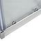 Portes de douche angle droit transparent COOKE & LEWIS Onega 70 x 70 cm
