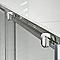 Porte de douche coulissante Cooke & Lewis Onega sérigraphié 120 cm