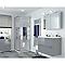 Portes de douche angle droit miroir COOKE & LEWIS Beloya 70 x 70 cm
