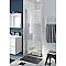 Porte de douche pivotante COOKE & LEWIS Beloya miroir 70 cm