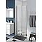 Porte de douche battante COOKE & LEWIS Beloya transparente 80 cm