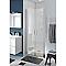 Porte de douche battante COOKE & LEWIS Beloya transparente 90 cm