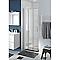 Porte de douche coulissante COOKE & LEWIS Beloya transparente 80 cm