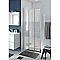 Porte de douche coulissante COOKE & LEWIS Beloya miroir 90 cm