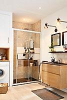 Meuble sous vasque bois Cooke & Lewis Essential II 80 cm