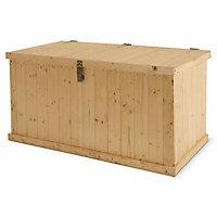Coffre de rangement bois Blooma Bembo 350 L