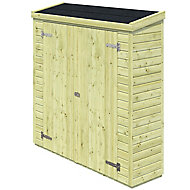 Armoire de rangement bois Blooma Ponoï 0,72m² ép.16 mm