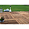 Dalle de terrasse pin marron Blooma Benoue 100 x 100 cm