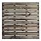 Dalle de terrasse pin Blooma Durance 100 x 100 cm